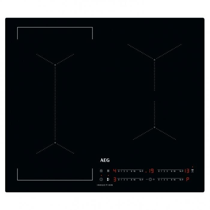 Индукционен плот AEG IKE64441IB Slim-fit Bridge