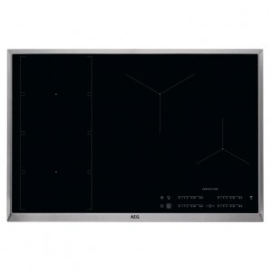 Индукционен плот AEG IKE84471XB FlexiBridge, 80 см, Hob2Hood