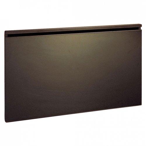 Стъклен лъчист конвектор Airelec Glassance 1000W, Електронен термостат