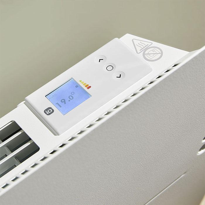 Конвекторен радиатор Atlantic Agilia Smart IO Control 1500W, Електронен програмируем термостат
