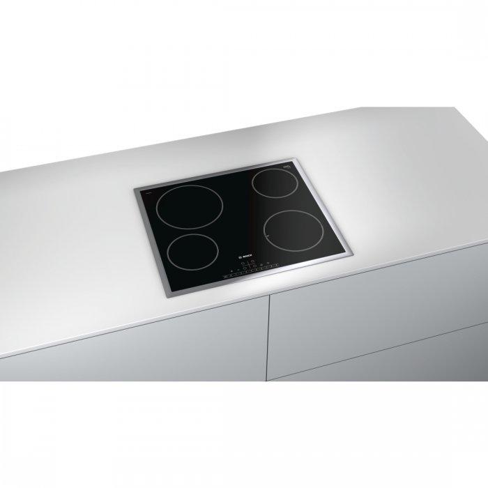 Стъклокерамичен плот за вграждане Bosch PKE645FP1E Серия 6, 60 см