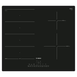 Индукционен плот за вграждане Bosch PXE611FC1E FlexInduction Серия 6, 60 см