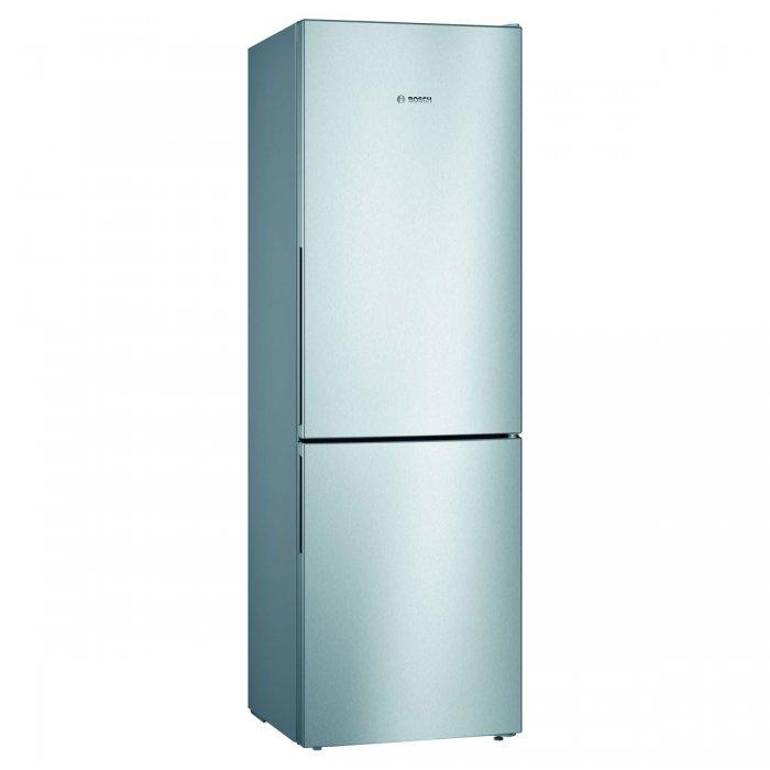 Комбиниран хладилник с фризер Bosch KGV362LEA LowFrost Серия 4, 186 см