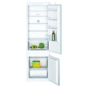 Комбиниран хладилник с фризер за вграждане Bosch KIV87NSF0 Low Frost Серия 2, 177.2 см, Клас А+