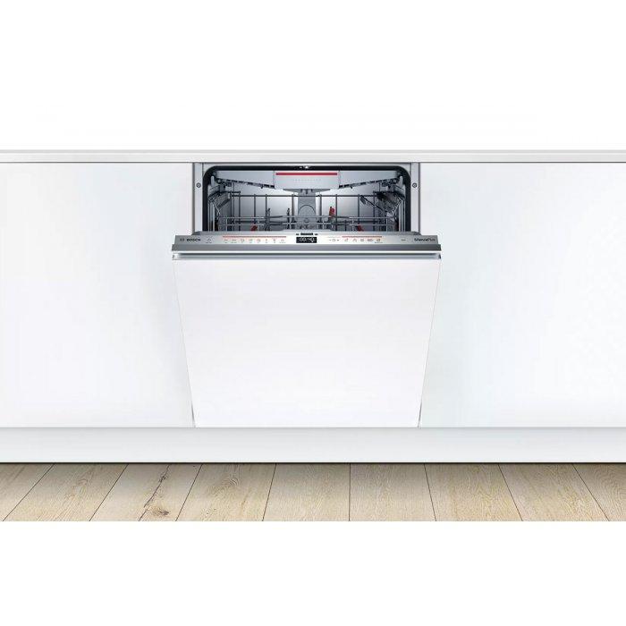 Съдомиялна за пълно вграждане Bosch SMD6ECX57E Серия 6, 60 см, 14 комплекта, Клас А++ с подарък Finish Quantum