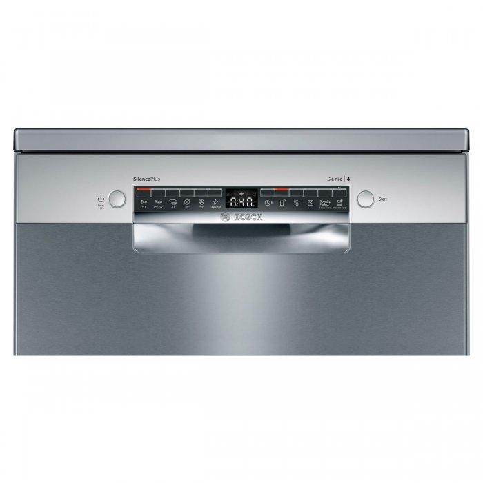 Свободностояща съдомиялна Bosch SMS4HVI33E Серия 4, 60 см, 13 комплекта с подарък Finish Quantum