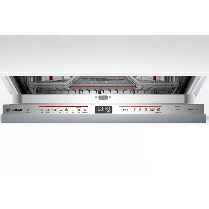Съдомиялна за пълно вграждане Bosch SMV6ZCX42E PerfectDry Zeolith Серия 6, 60 см, 14 комплекта