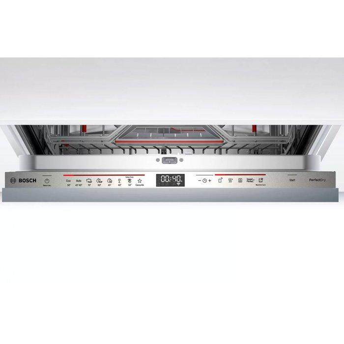 Съдомиялна за пълно вграждане Bosch SMV6ZCX49E PerfectDry Zeolith Серия 6, 60 см, 14 комплекта с подарък Finish Quantum