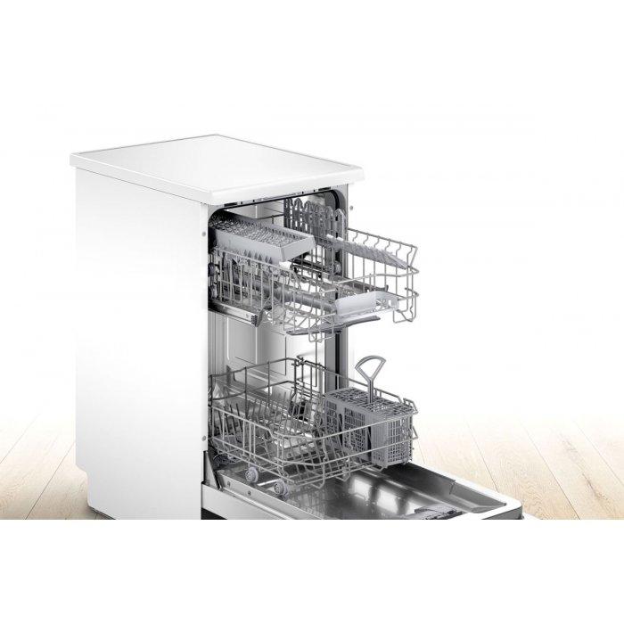 Свободностояща съдомиялна Bosch SPS2IKW04E Серия 2, 45 см, 9 комплекта, Клас А+