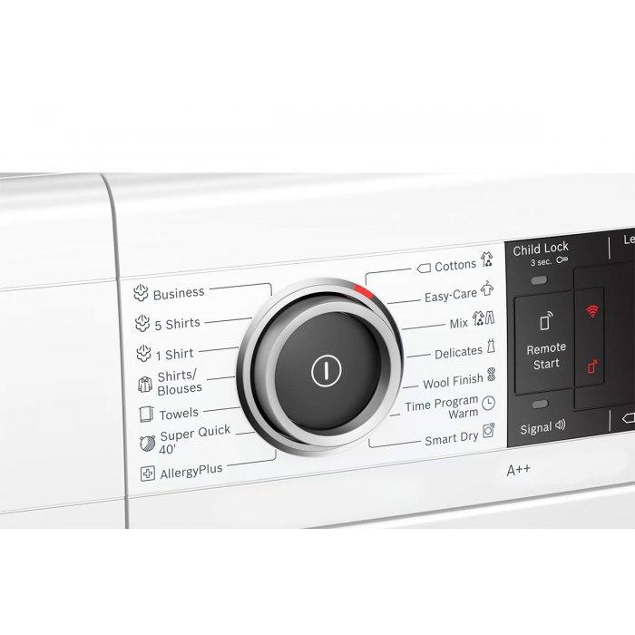 Сушилня с термопомпа Bosch WTX87KH1BY Smart Dry Серия 8, 9 кг, Клас А++
