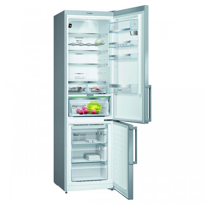 Комбиниран хладилник с  фризер Bosch KGN39HIEP No Frost, 204 см