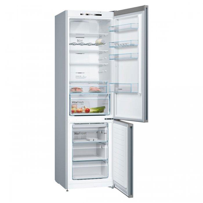 Комбиниран хладилник с фризер Bosch KGN39VLEA NoFrost Серия 4, 203 см