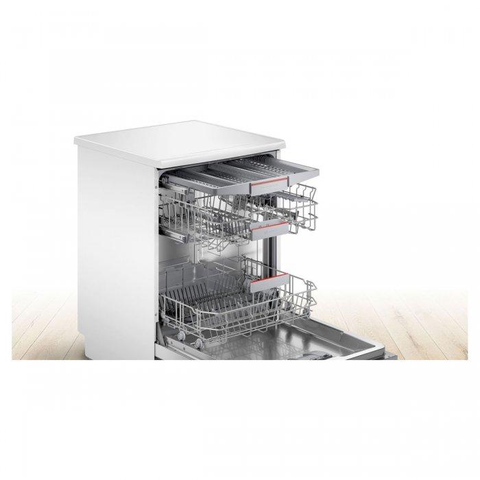 Свободностояща съдомиялна Bosch SMS4EVW14E Серия 4, 60 см, 13 комплекта