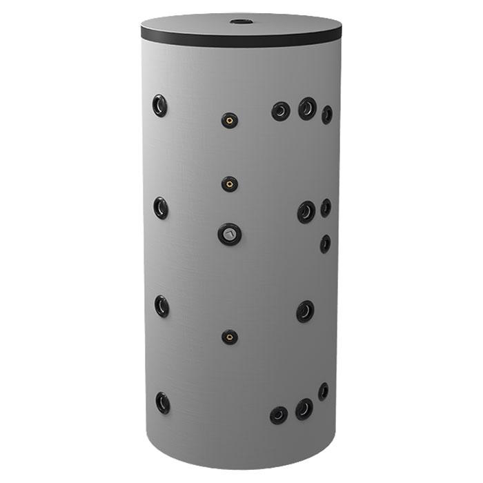 Буферен съд Eldom BCWS2 500K80 за инсталации и БГВ с две серпентини + неръждаема серпентина