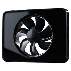 Вентилатор за баня Fresh Intellivent 2, черен