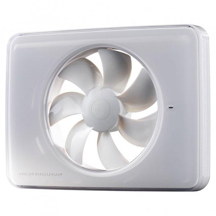 Вентилатор за баня Fresh Intellivent 2, бял