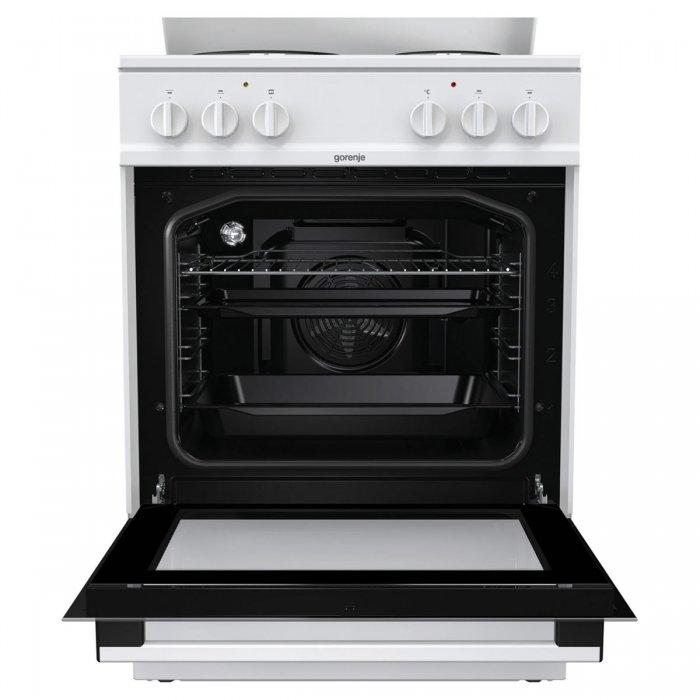 Електрическа готварска печка Gorenje E6141WB, 60 см