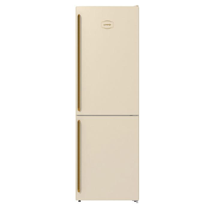 Комбиниран хладилник с фризер Gorenje NRK6192CLI NoFrost Plus, 185 см