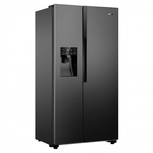 Хладилник Side by Side Gorenje NRS9182VB Total NoFrost с диспенсър за вода, 179 см, Клас A++