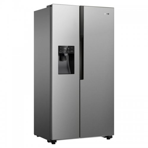 Хладилник Side by Side Gorenje NRS9182VX Total NoFrost с диспенсър за вода, 179 см, Клас A++