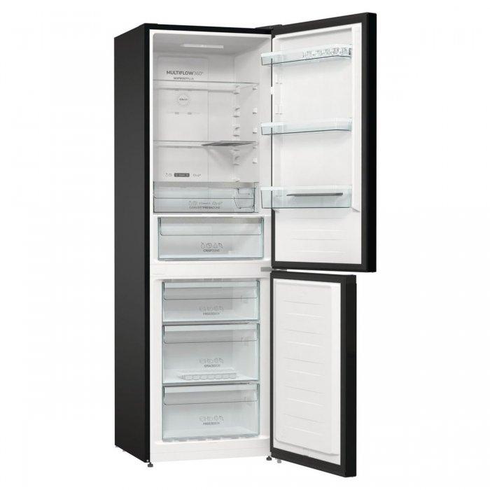 Комбиниран хладилник с фризер Gorenje NRK6192SYBK NoFrost Plus, 185 см