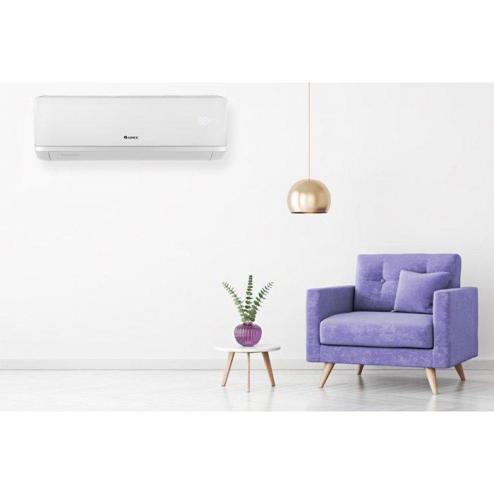 Инверторен климатик Gree GWH24AAD-K6DNA2A-I/GWH24AAD-K6DNA1A-O INFINITY WiFi 2019, 24000 BTU + прахосмукачка Karcher WD 3