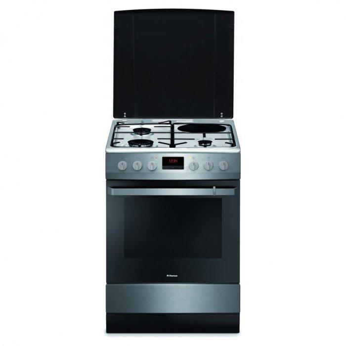 Комбинирана готварска печка Hansa FCMX68209, 60 см