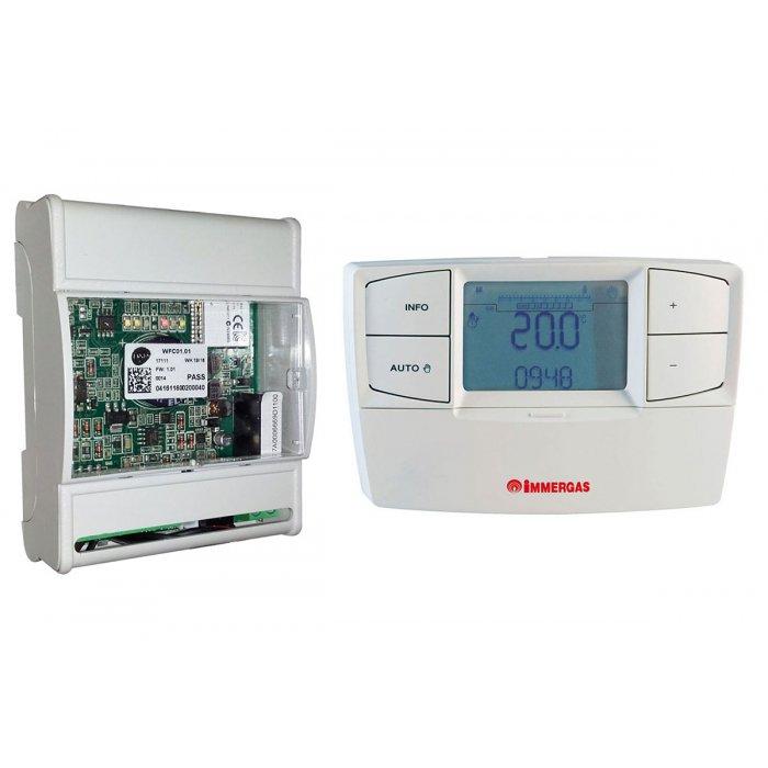 WiFi управление Dominus + безжичен терморегулатор CARv2