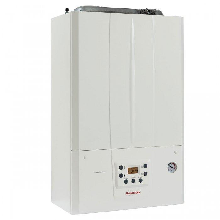 Газов котел Immergas Victrix Tera 32 1 + димоотвод, 28/32 kW, двуконтурен