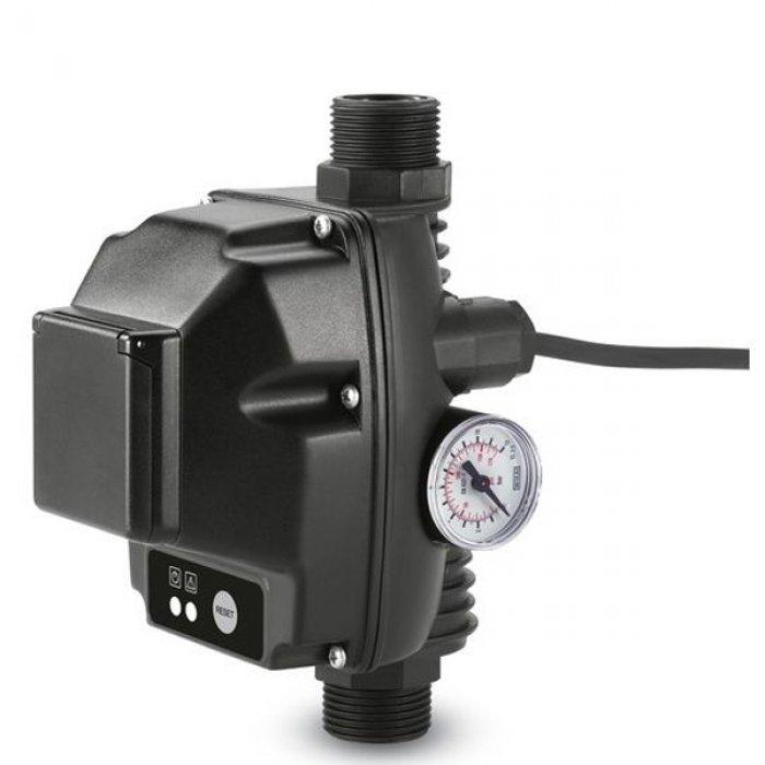 Електронен прекъсвач за налягане със защита срещу сух ход