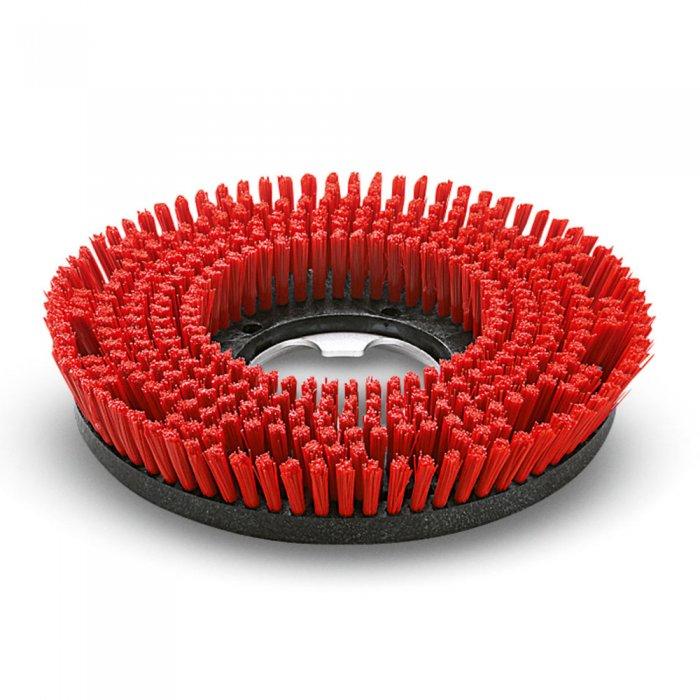 Дискова четка, среден, червен, 430 mm