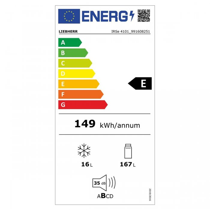 Хладилник за вграждане Liebherr IRSe 4101 Pure EasyFresh