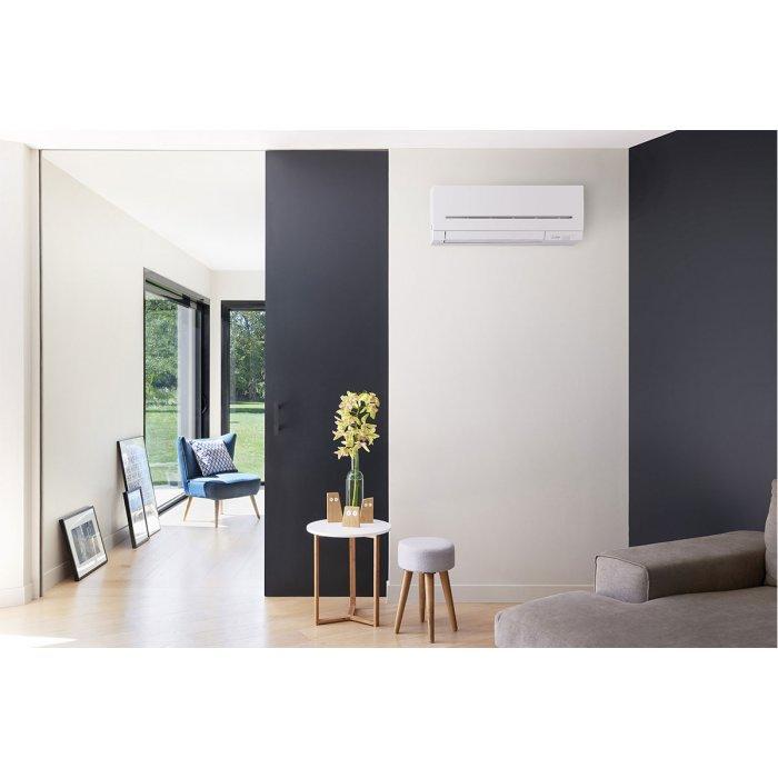 Инверторен климатик Mitsubishi Electric MSZ-AP25VGK/MUZ-AP25VG WiFi, 9000 BTU, Клас A+++