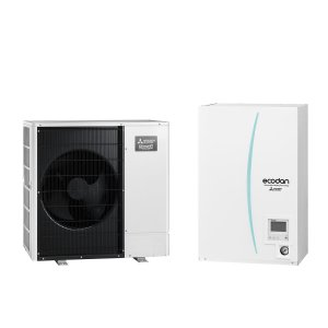Термопомпа Mitsubishi Electric ERSC-VM2D/PUHZ-SHW80VAA ZUBADAN, 8 kW, отопление, охлаждане и БГВ