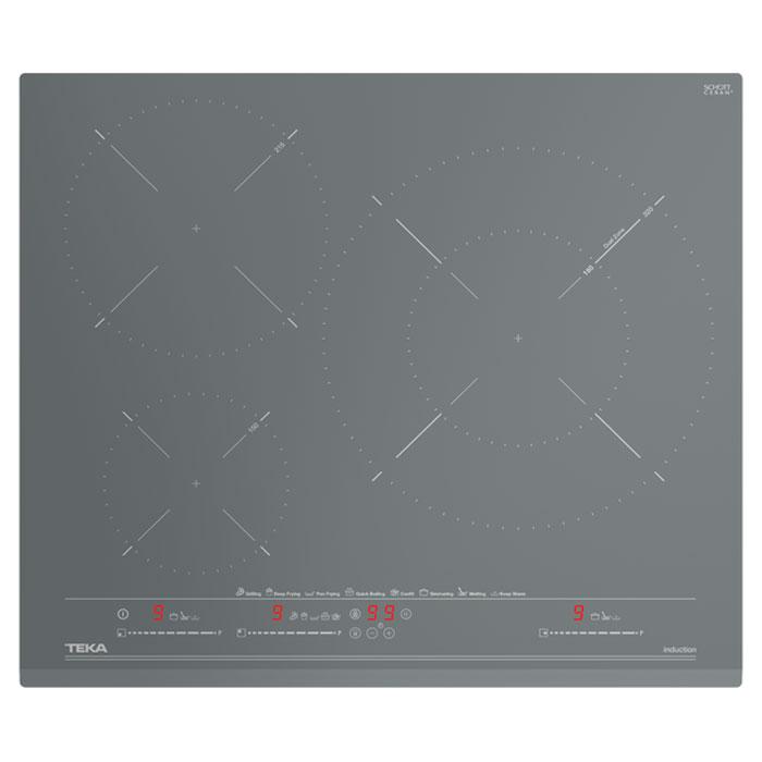 Индукционен плот за вграждане Teka IZC 63630 Urban Colors, Сив, 60 см