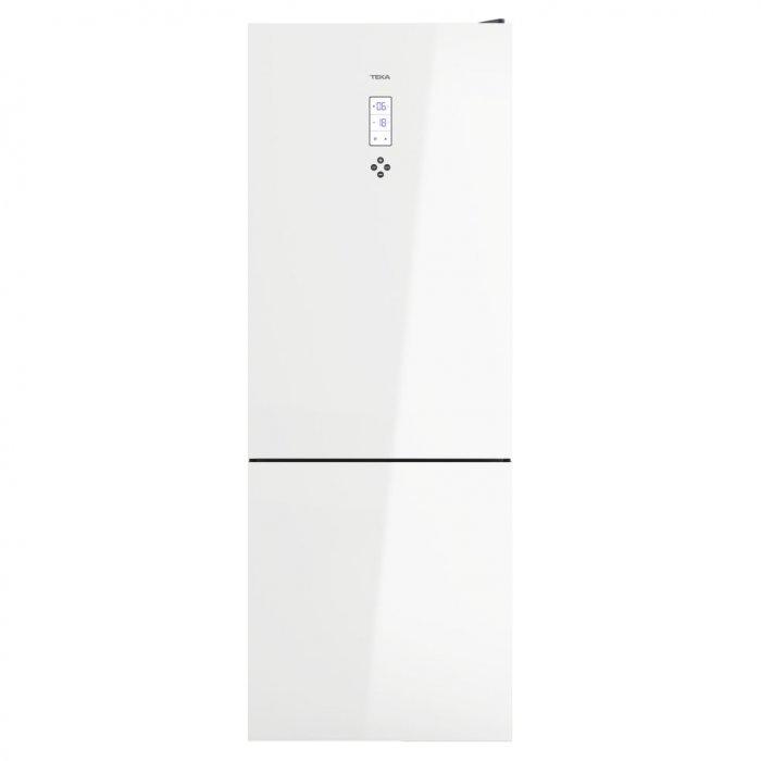 Комбиниран хладилник Teka RBF 78720 NoFrost - Бяло стъкло