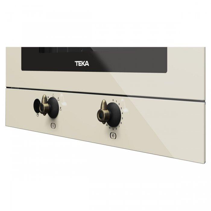 Микровълнова фурна за вграждане Teka MWR 22 BI ванилия / месинг