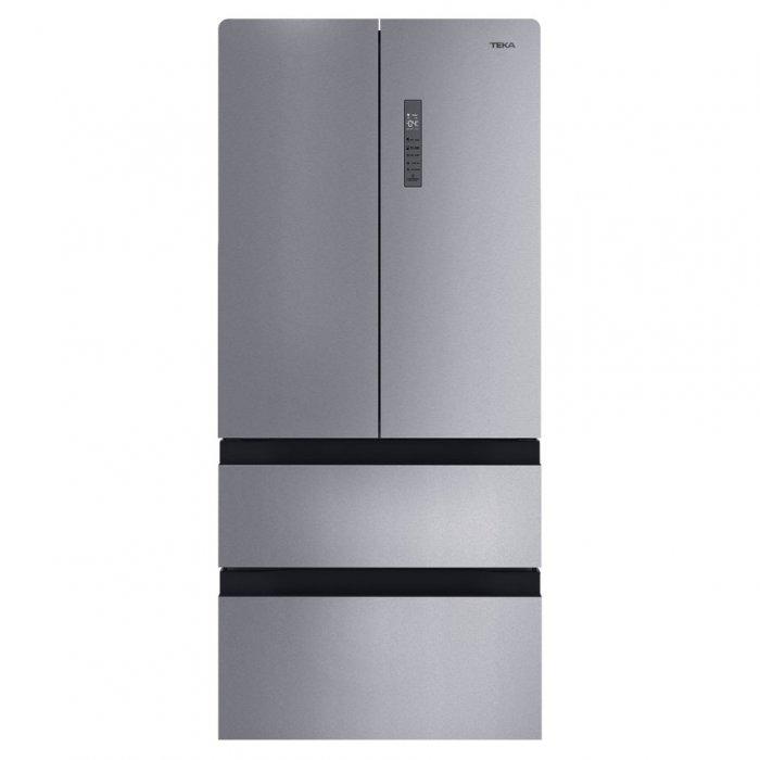 Комбиниран хладилник Teka RFD 77820 NoFrost - Инокс