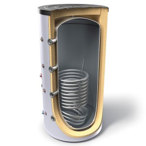 Буферен съд TESY V 11S 400 75 F42 P5 за отоплителни инсталации със серпентина