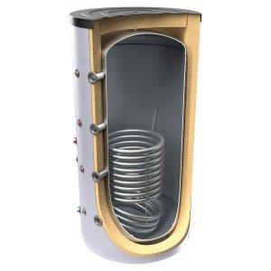 Буферен съд TESY V 15 S 1000 95 C за отоплителни инсталации с една серпентина