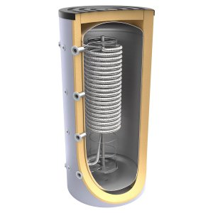 Буферен съд TESY V 1000 95 HYG5.5 C за инсталации и БГВ с хигиенна серпентина