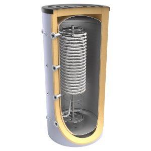 Буферен съд TESY V 800 95 HYG5.5 C за инсталации и БГВ с хигиенна серпентина