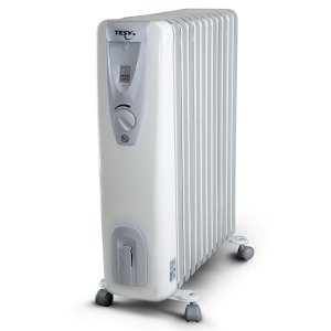Маслен радиатор TESY CB 1507 E01 R 1500W, 7 ребра