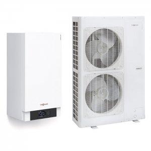 Термопомпа Viessmann Vitocal 100-S AWB-M-E-AC 101.A14, 14 kW, отопление, охлаждане и БГВ
